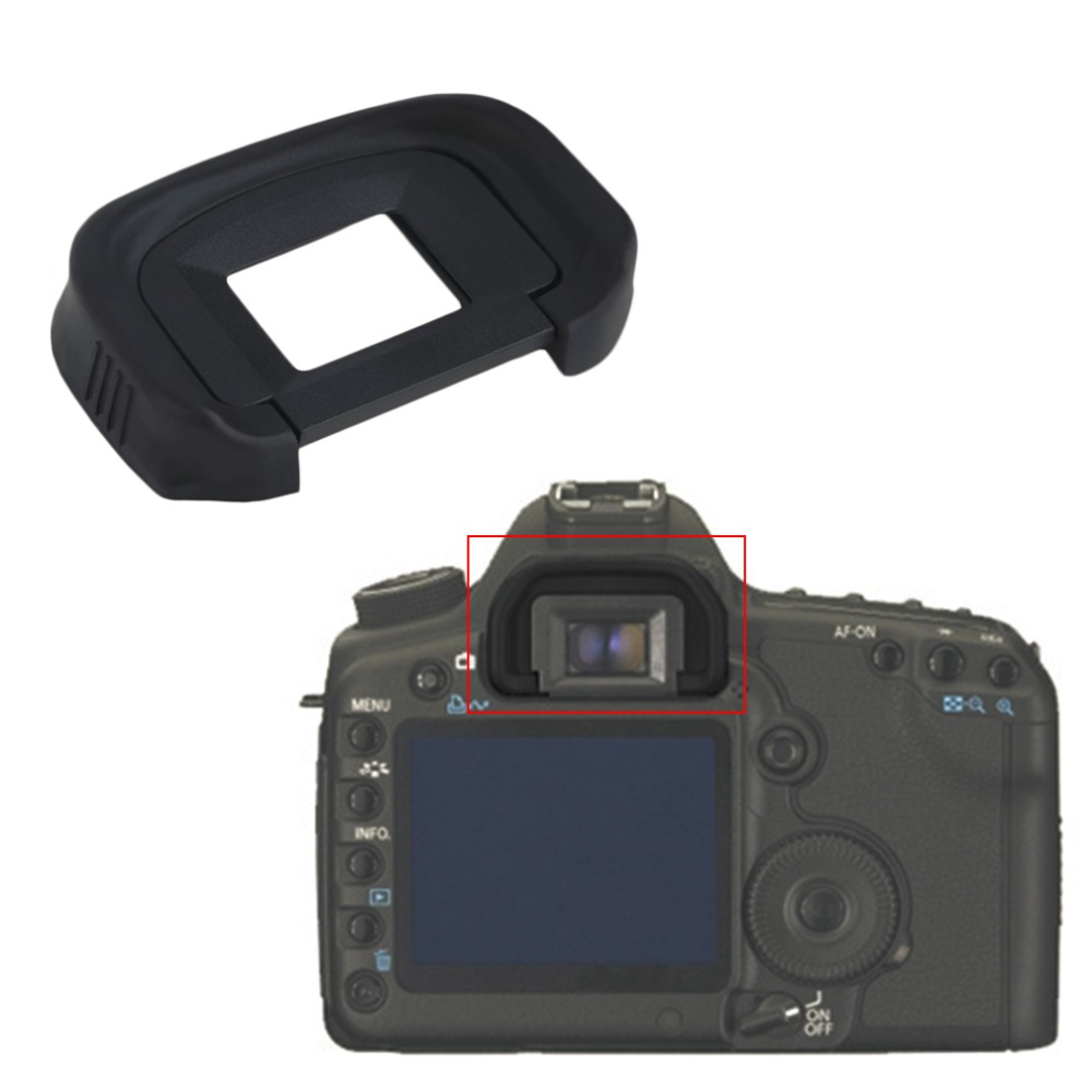 Viewfinder Eyepiece <font><b>Rubber</b></font> Eyecup EG For <font><b>Canon</b></font> EOS 1DS <font><b>Mark</b></font> <font><b>III</b></font> <font><b>5D</b></font> 7D image