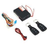 Sistema de alarma Universal para coche Kit de Control remoto automático Bloqueo de puerta para vehículo sistema de entrada sin llave bloqueo Central con Control remoto