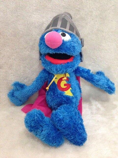 Улица сезам плюшевые супер гровер плюшевые игрушки синий плюшевые 45 см