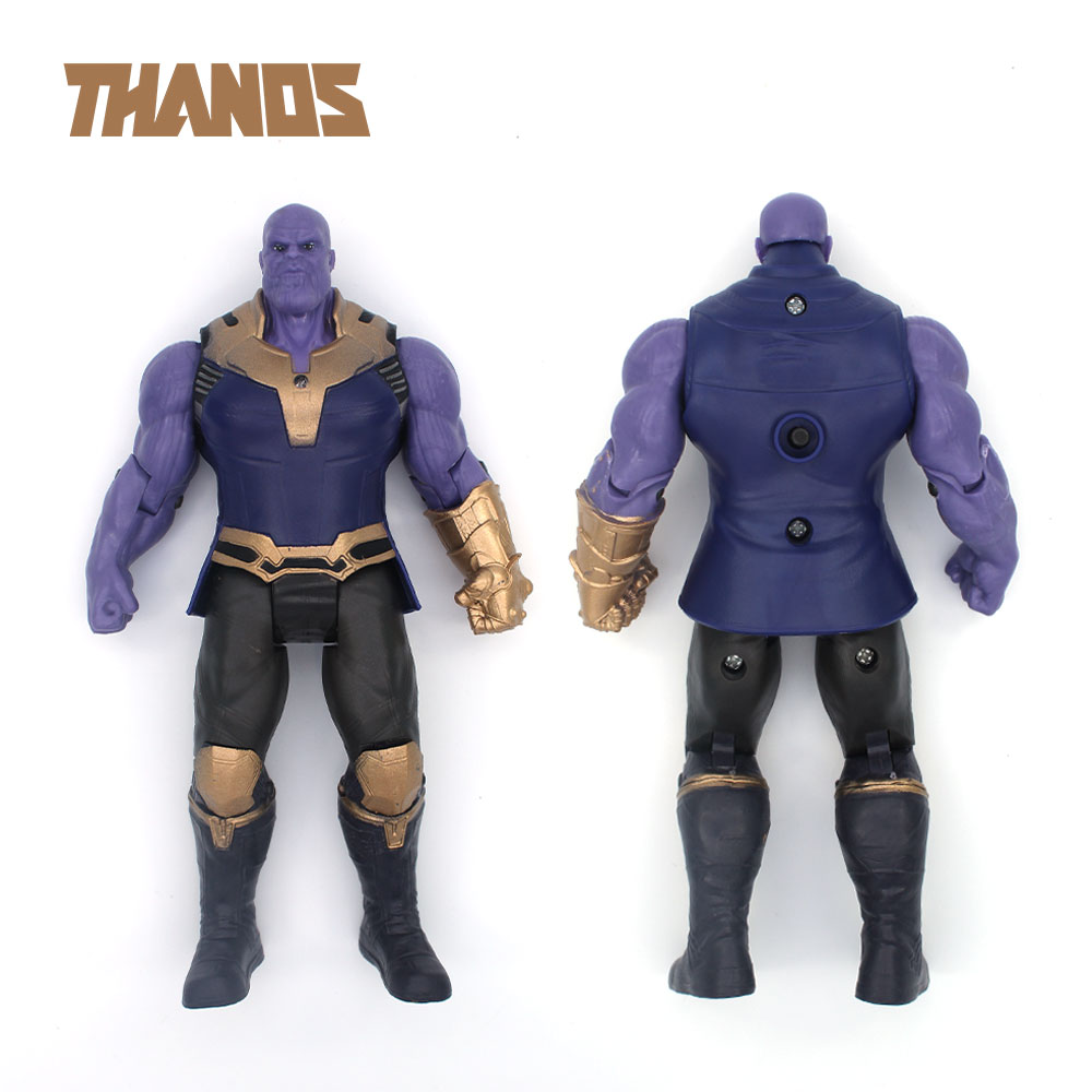 'marvel The Avengers Infinity Guerra Thano Hulk Ornamenti Action Figure Bambola Per Il Capretto Del Bambino Del Regalo Di Compleanno Otaku Toy Collection