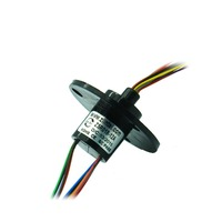 ZSR018 12A 12 Channel 2A Out Diameter 18mm Capsule Electrical Collector Rings Slip Ring Conductive Slip