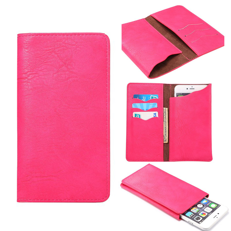 For ZTE Axon 7 Max PU Leather Case Universal Cell Phone Bag Holster Cover Pocket Wallet Pouch Case For 5.7-6.5 inch