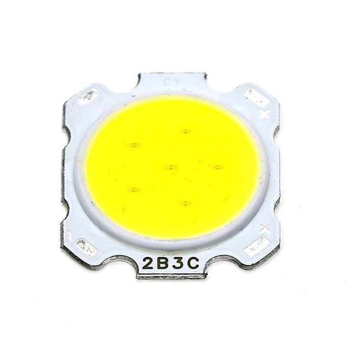 10pcs a lot 3W/5W/7W/10W High Power LED COB Light Beads 28MM LED lamp Bead LED Bulb Chip Spot Light Downlight Diode Lamps White