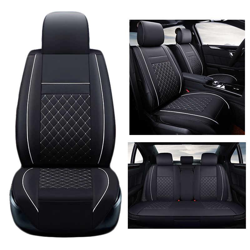 New Luxury PU Kulit Auto Universal Kursi Mobil Meliputi Sarung Jok Otomotif untuk toyota lada priora kalina granta renault logan
