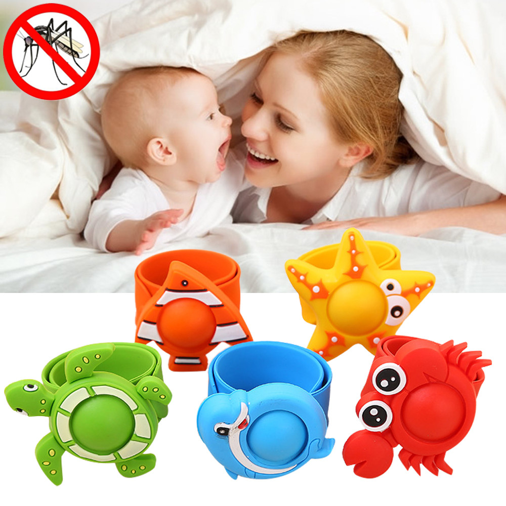 Anti Mosquito Pest Lnsect Bugs Repellent Repeller Wrist Band Bracelet Wristband Children Pest Control Products Repeller