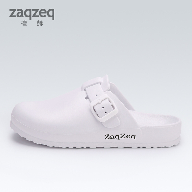Medical Shoes Doctor Nurses Protective Footwear Operating room Clinical Hospital Clogs Slippers Shoes Man Women Strap Work Shoes
