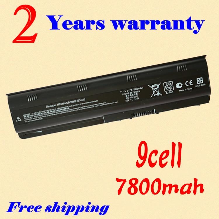 JIGU 9 Cellules Batterie D'ordinateur Portable POUR PAVILION DM4 DV3 DV5 DV6-4000 DV7-1200 DV8 G4 G6 G7 CQ32 CQ42 CQ43 CQ56 CQ62 P/N 593554-001