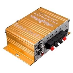 Image 4 - RCA 2CH Hi Fi amplificateur stéréo Booster MP3 haut parleur pour voiture DVD Mini Moto vente chaude
