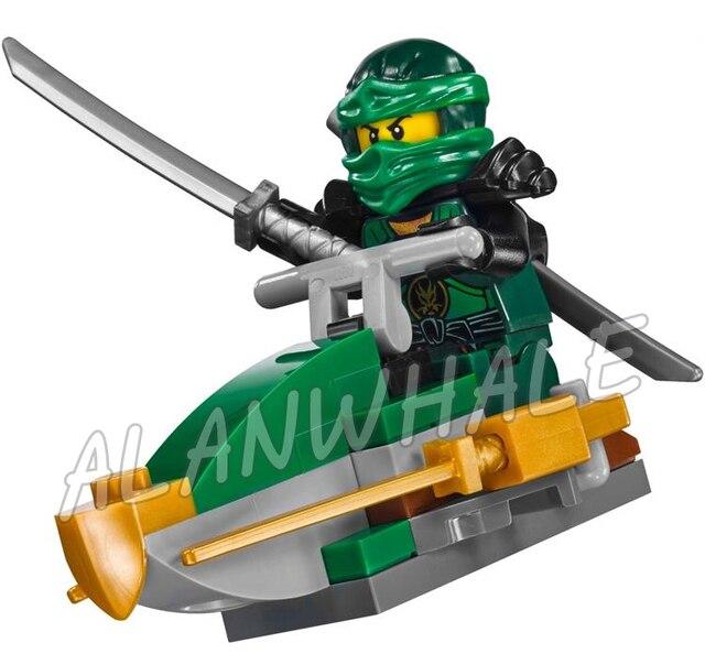 734 шт ниндзя Новый 10583 Dawn of Iron Doom DIY Модель Строительный набор блоки игрушки игровой набор совместим с