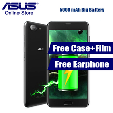 2017 Newest ASUS Zenfone 4 Max Plus X015D Octa-core 5000mAh 5.5 Inch Android 7.0 MT6750 Dual Main Cameras Mobile Phone