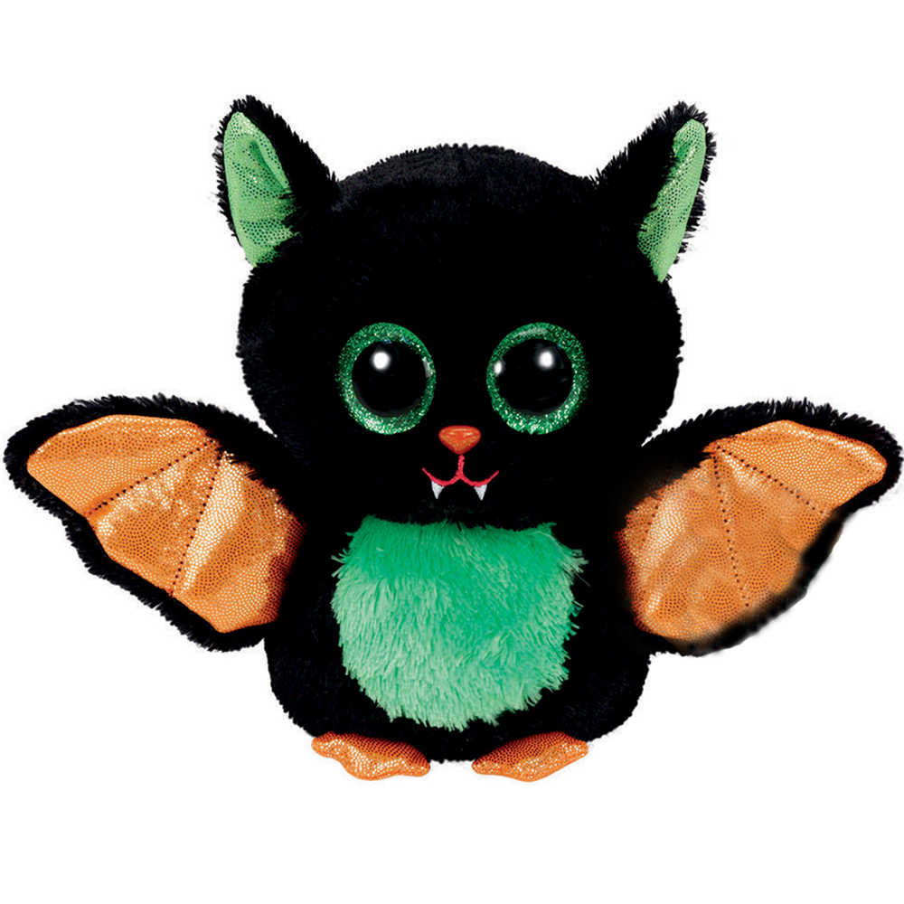 """Pyoopeo Ty бини Боос 6 """"15 см Beastie Хэллоуин летучая мышь плюшевые регулярные мягкие чучело Коллекционная кукла игрушка с сердцем тег"""