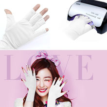 False Nail New Nail Art Manicure Anti UV Glove for UV Light / Lamp Radiatio P# 824(China)