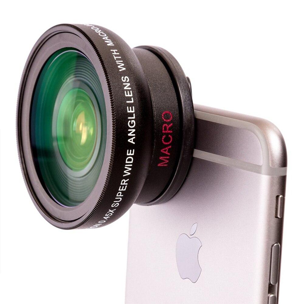 YIXIANG NOVÝ HD 37MM 0,45x širokoúhlý objektiv s makro objektivem pro fotoaparáty Canon Nikon Sony Pentax 37MM DSLR