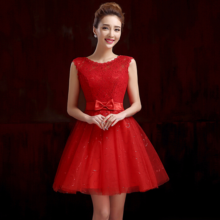 Popular Red Sparkly Dress-Buy Cheap Red Sparkly Dress lots from ...