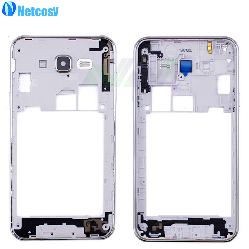 Netcosy Middle Plate Frame Bezel Housing For Samsung Galaxy J7 Mid Frame Cover Replacemenrt Repair Phones Accessories