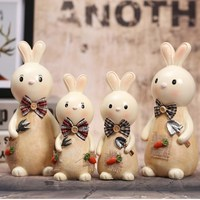 Cartoon kaninchen Sparschwein Münze Einsparungen Topf Kinder Spielzeug Geburtstagsgeschenk Bargeld Sicher Spardose Sparschwein