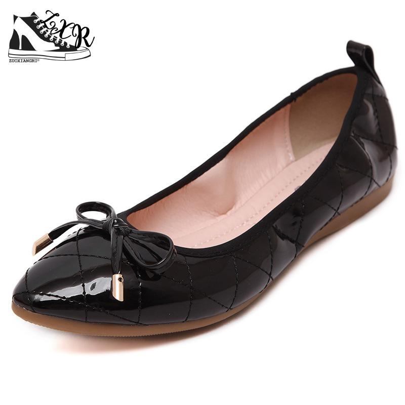 Newest Pu Bowtie Quilted Women Driving Casual Ballet Flats Shoes Loafers 35-42 Ladies Plaid Shoes Spring Autumn Women Shoes 2015 hot sale new spring autumn women flats sweet bowtie casual fashion ladies wedding shoes