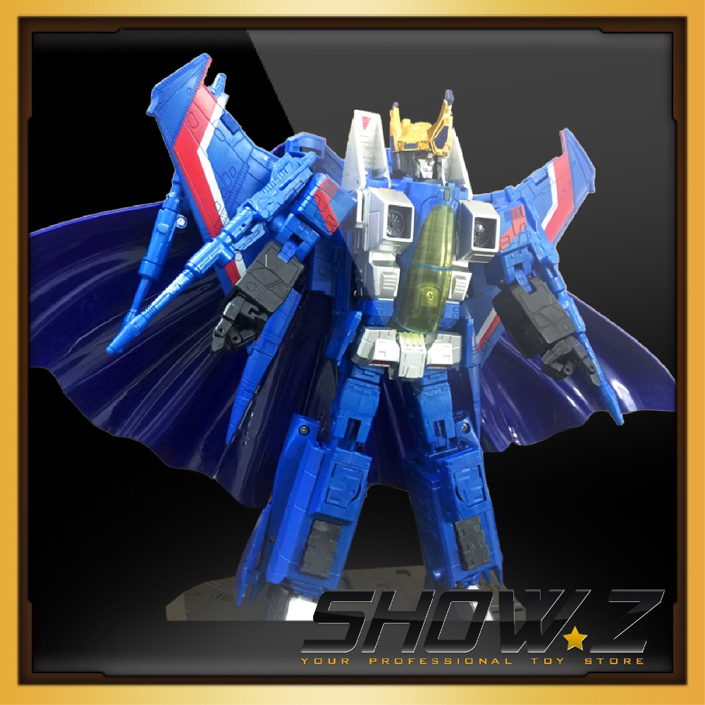 [Show.Z Store]NEW Transformation KBB Kubianbao MP11T Thundercracker Action Figure 23cm viruses cell transformation and cancer 5