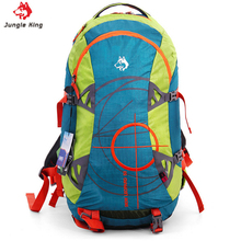 JUNGLE KING Outdoor professional mountaineering bag camping hiking sports bag riding large capacity waterproof climbing bag 50L