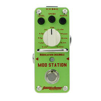 AROMA Tom Sline AMS 3 Mod Station Modulation Ensemble Electric Guitar Effect Pedal Mini Single Effect