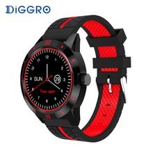 Diggro DI02 Inteligente Reloj Teléfono Bluetooth Monitor de Ritmo Cardíaco Dos Correas Laterales MTK2502C Sports Business Smartwatch para Android IOS
