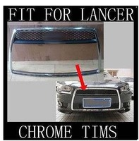 Chrome Front Grille Around Trim for LANCER 2008 2009 2010 2011