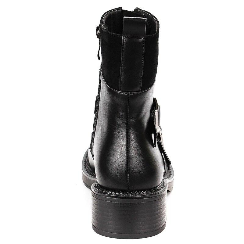 Offerta 41 donna da Decorazione 2019 nero arrivi Stivali quadrati Size fibbia Big Doratasia speciale 35 Scarpe di Nuovi Tacchi WqBZxg6