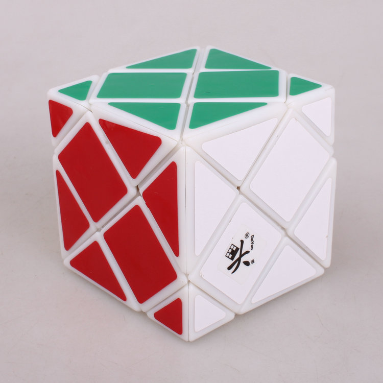 Dayan Dino Skewb 57mm Black white Stickerless Puzzle Cube Professional Speed Puzzle Educational Special Toy Cubo Magico