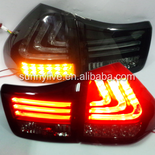 RX300 RX330 RX350 Herrier Kluger for Lexus LED Tail Lamp 04-09 Year  Smoke 6x car snow tire anti skid chains for lexus rx nx gs ct200h gs300 rx350 rx300 for alfa romeo 159 147 156 166 gt mito accessories