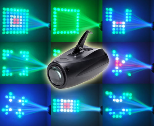 Amazing LED Voice Activated Small Airship Shape Auto Dj Wedding Decoration Lamp Equipment Stage Room