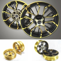 Motorcycle Forward + Post Wheels Rims For HONDA GROM MSX125 MSX125SF