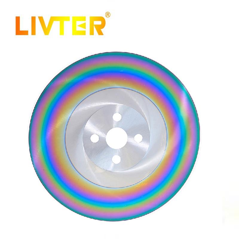 Lames de scie circulaire LIVTER M42 HSS pour couper l'acier inoxydable