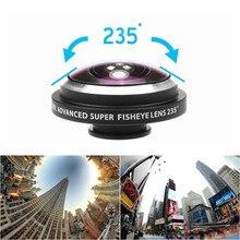 Universal 235 Degree Super Fisheye Lens Mobile Phone Camera Lenses For iPhone iP