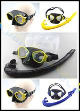 где купить 2set adult scuba Diving equipment set silicone Snorkel+diving mask+PP box swimming Goggles diving gears full Wet Breathing Tube по лучшей цене