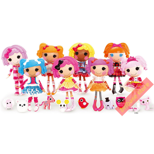 Home Decor Posters Lalaloopsy Realist Decoration Silk Fabric Wall Picture Print Cartoon Pictures For