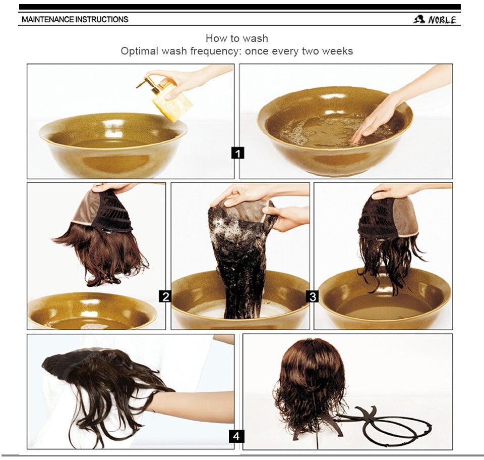 para preto feminino 12 Polegada ondulado cabelo