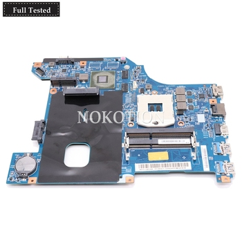 NOKOTION For lenovo ideapad G480 laptop motherboard 14 Inch LG4858 MB 11252-1 48.4SG01.011 11S90000306 HM76 DDR3 GT610M GPU