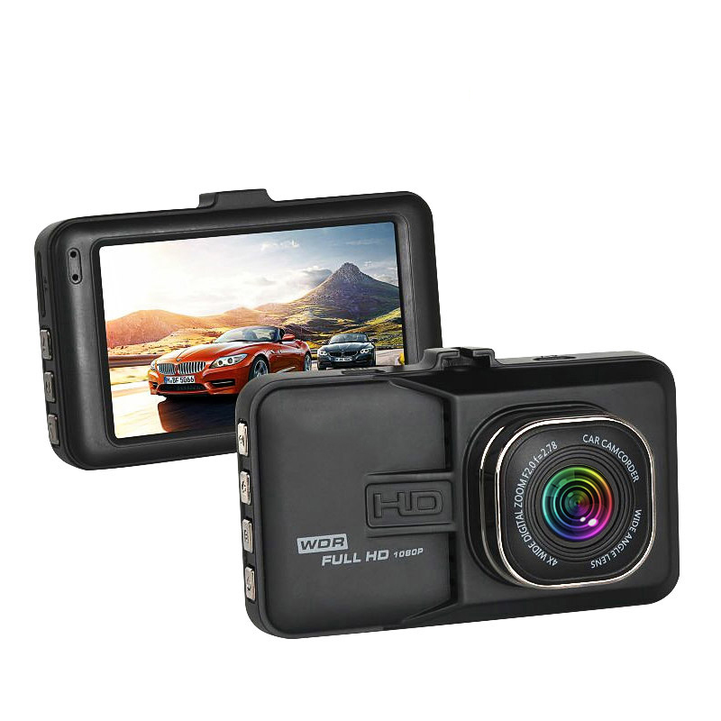 Mini Dash Cam Night Vision 170 Wide-angle Driving Recorder Vehicle Gravity Sensing 3 Inch Dash Camera Car DVR HD 1080P Dashcam цена
