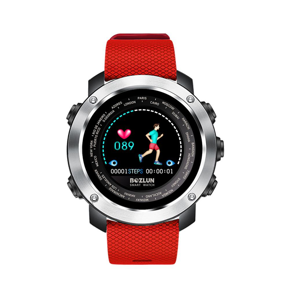 LinTimes Colorful Screen Bluetooth Smart Watch Multifunctional Step Counting Sports Watch цена и фото