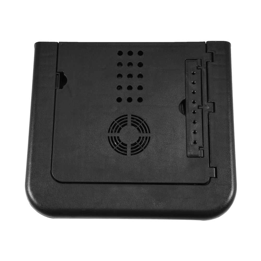 Adjustable Laptop Desk Foldable Table e-Table Bed with USB Cooling Fans Stand Tools Accessory