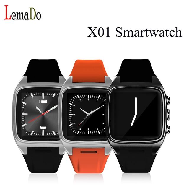 Lemado X01 android 5.1 OS smart watch WIFI 3 Г поддержка 720 P HD камера Bluetooth наушники связи в качестве независимых телефон PK LEM5
