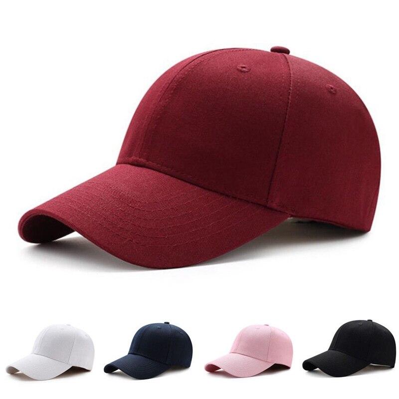 Hot Men Women Unisex Adjustable Plain Cap Trucker Visors Sport Outdoor Snapback Hip-hop All-matched Hat