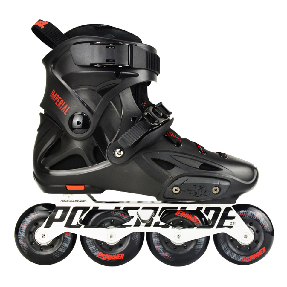 100% Original 2018 Powerslide Imperial Inline Skates Professional Slalom Inline Skates Roller Free Skating Shoes Sliding Patines