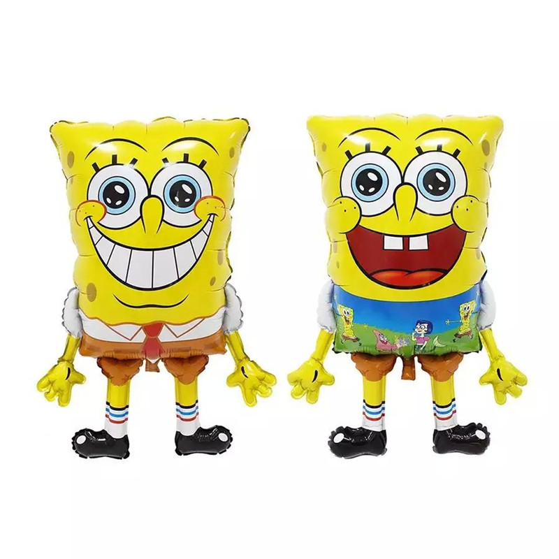 Giant big Sponge Bob Foil Balloons Inflatable toys Helium Balloon classic toys a