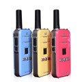 Мини-Мода walkie-talkie гражданские и военные качество ультра-легкий и маленький 5 Вт Профессиональные FM двухстороннее радио