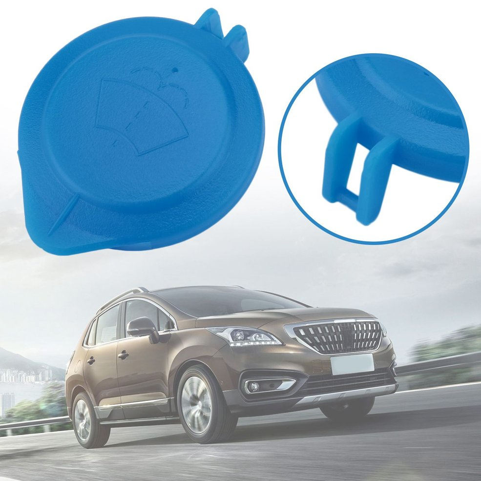 Cap Lid Wiper Cleaning Fluid Reservoir Windshield Replacement Cover For Peugeot 407 For Citroen C5 3008 Car Accessories