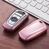 Soporte de funda para llave de coche, BILLETERA, juego de piel para BMW e30, e36, e90, e60, e84, e36, e53, e63, e90, F10, F30, x1, x3, x4, mando a distancia