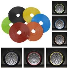Car Styling: 8m Car Wheel Protector Hub Sticker