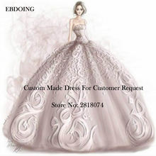 EBDOING 2019 Custom Made Link For Wedding Dress With
