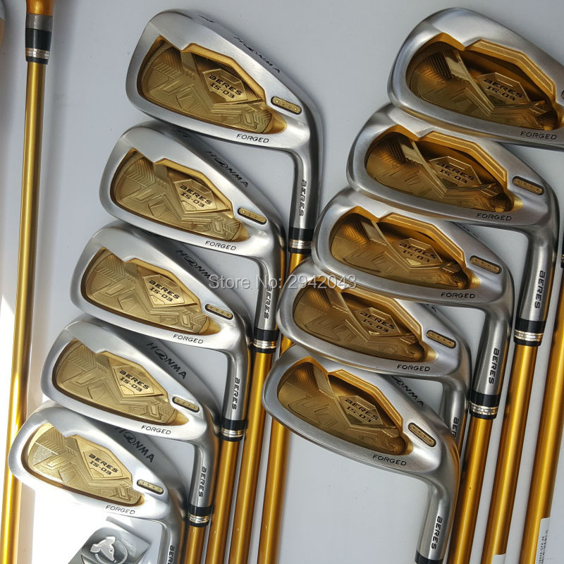 Golf Clubs honma s-03 4 star irons clubs set 4-11Sw.Aw Golf irons clubs Graphite Golf shaft R or S flex Free shipping womens golf clubs maruman rz complete clubs set driver fairway wood irons graphite golf shaft and cover no ball packs